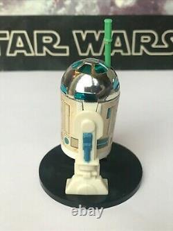 Star Wars Vintage 1977 Dernier 17 R2d2 Pop-up Lightsabre! 100% Original