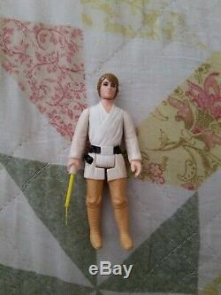Star Wars Vintage 1977 Luke Skywalker (farmboy Aux Cheveux Bruns)
