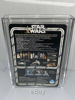 Star Wars Vintage 1978 Darth Vader 12 Retour Afa Grade 75+ Ex + / Nm