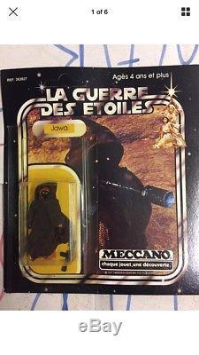 Star Wars Vintage 1978 Meccano Jawa