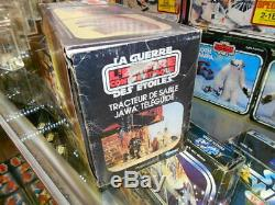 Star Wars Vintage 1980 Kenner Radio Sous Contrôle Canadien Jawa Sul'lithuz Boxed