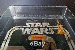 Star Wars Vintage 21 Retour Boba Fett Moc Afa 85 Nm + (85/85/85) Unpunched