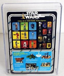 Star Wars Vintage 21 Retour-b Boba Fett Afa 85 Nm + # 18531989
