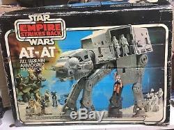 Star Wars Vintage At-at Marcheur Impérial, Système De Travail Complet En Boîte