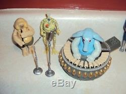 Star Wars Vintage Blue Snaggletooth Potf Lando Général Max Rebo Band & Sy Lot