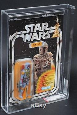 Star Wars Vintage Boba Fett 21 Arrière-b Afa 85 (85/85/80) Moc Unpunched