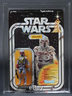 Star Wars Vintage Boba Fett 21 Back-b Afa 85 (80/85/85) Unpunched Moc