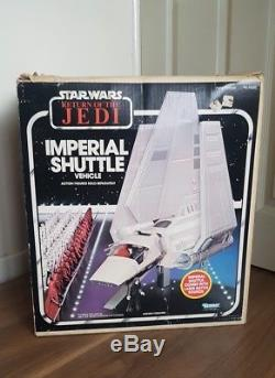 Star Wars Vintage Boxed Vehicle Navette Impériale Complète