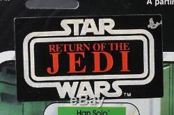 Star Wars Vintage Canadien Han Bespin Esb 47 Retour Afa 80 (80/85/80) Moc