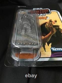 Star Wars Vintage Collection 2012 Sdcc Jar Jar Binks En Carbonite Unpunched