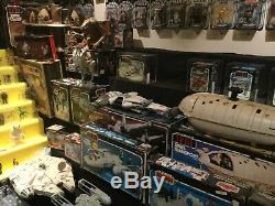 Star Wars Vintage Collection Énorme @@ De Afa Graded Lot Et Vintage Collection