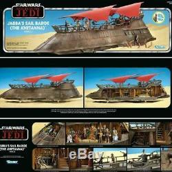 Star Wars Vintage Collection Haslab Jabba Sail Peniche Khetanna Avec Yakface