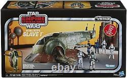 Star Wars Vintage Collection Slave 1 Véhicule De Vaisseau Boba Fett 2020 En Stock