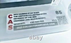 Star Wars Vintage Collection Vc64 Non Punched Graded Cas Afa 85 Esclave Leia Revenge