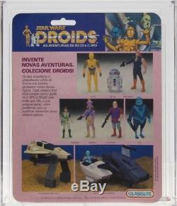 Star Wars Vintage Droites Glasslite VLIX Afa 50 (80/50/85) Moc