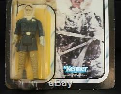 Star Wars Vintage Esb Han Solo Hoth 41bk Afa Digne Moc Original Non Ouvert