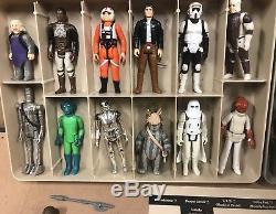 Star Wars Vintage First 12 Figurines Complètes 1977 Case Insert Brown / H / Luke