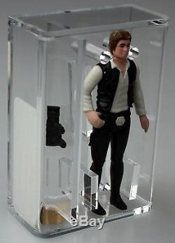 Star Wars Vintage First Shot Prototype Han Solo (petite Tête / Jambes Moulées) Afa 70