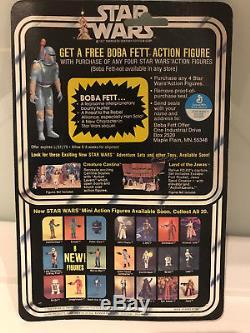 Star Wars Vintage Greedo 20 Retour Boba Offre 1978 Moc Pas Recard