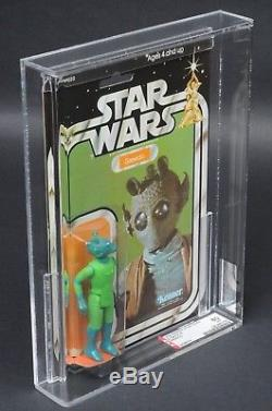 Star Wars Vintage Greedo 21 Retour-a Afa 80 (80/80/85) Moc