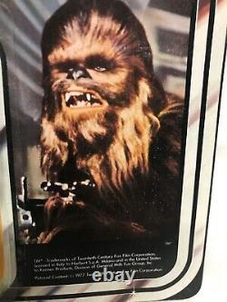 Star Wars Vintage Harbert Chewbacca 12 Retour Moc Unpunched Acrylic Case