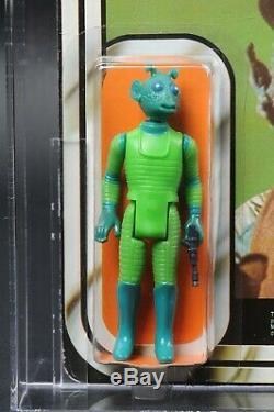 Star Wars Vintage Harbert Greedo 20 Retour Afa 60 (50/80/85) Moc