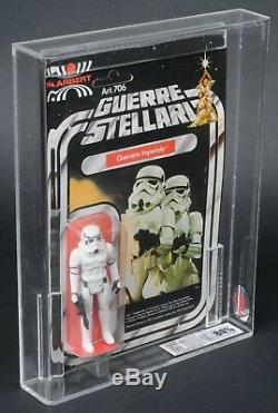Star Wars Vintage Harbert Stormtrooper 12 Retour Ukg 80 (80/85/80) Moc Non Perforé