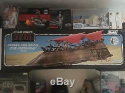 Star Wars Vintage Haslab La Khetanna Jabba La Barge À Voile Hutt Brand New Rare