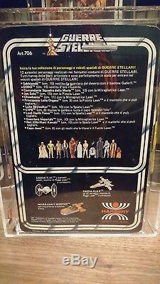 Star Wars Vintage Italien Harbert Chewbacca Moc Ukg (sans Afa) 85%