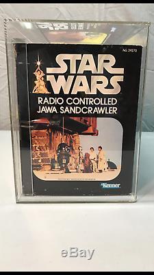 Star Wars Vintage Kenner 1979 Jawa Sandcrawler Afa 80