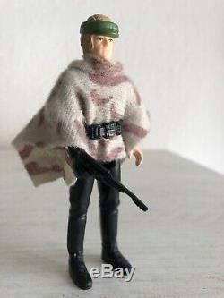 Star Wars Vintage Kenner 1985 Poncho De Bataille Endor Luke Skywalker