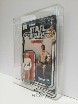 Star Wars Vintage Kenner Luke Skywalker 12 C Retour Ukg 80 (80/85/85) Moc