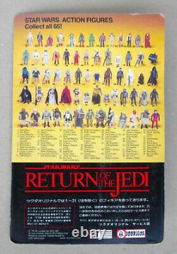 Star Wars Vintage Kenner Moc Non Punched Scellé Japon Tsukuda Rotj Leia Boushh D