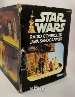 Star Wars Vintage Kenner Radio Contrôlé Jawa Sandcrawler Scellé Misb