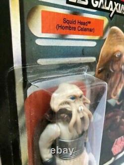 Star Wars Vintage LILI Ledy Burgundy Cape Squid Head 14 Retour Très Rare Mexique