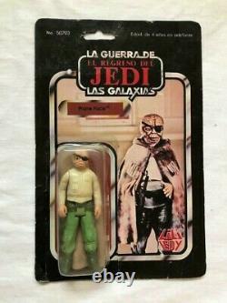 Star Wars Vintage LILI Ledy Prune Face 50 Retour Très Rare Mexique Look