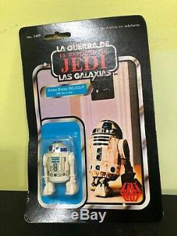 Star Wars Vintage LILI Ledy R2-d2 Mexique Rare 1983 Nouveau! Retour Du Jedi Droïde