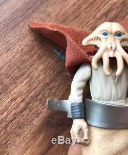 Star Wars Vintage LILI Ledy Squid Tête Bourgogne Cape Complete Rare Variant 80s