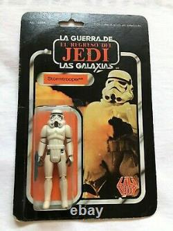 Star Wars Vintage LILI Ledy Stormtrooper 30 Retour Très Rare Mexique Super Rare