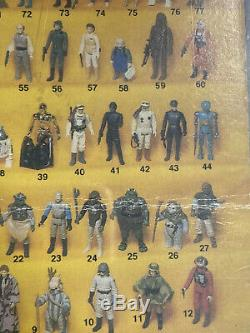 Star Wars Vintage Leia Poncho Afa 75 Kenner 77 Retour Rotj Carte 1983 C70 B85 F85