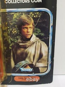 Star Wars Vintage Luke Skywalker Dans Battle Poncho Moc Dernier 17