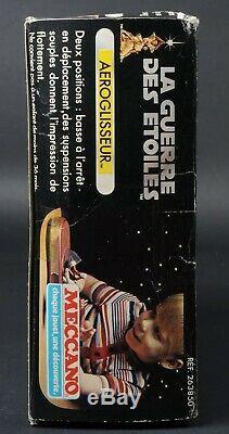 Star Wars Vintage Meccano Aeroglisseur Landspeeder Mib