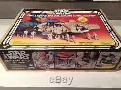 Star Wars Vintage Millennium Falcon En Boite Complet Kenner