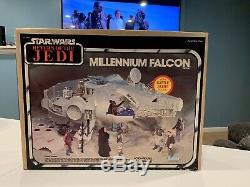 Star Wars Vintage Millennium Falcon Kenner New Sealed Retour Du Jedi 1983