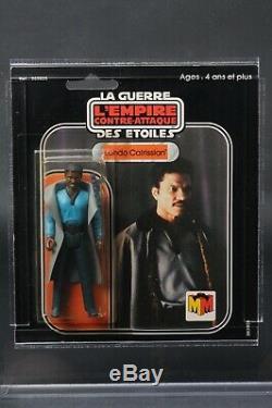 Star Wars Vintage Miro-meccano Lando Calrissian 20 MDC Arrière Avec Coa