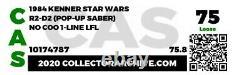 Star Wars Vintage Original Afa 1985 R2-d2 Pop-up Saber Cas 75 Dernier 17 Potf