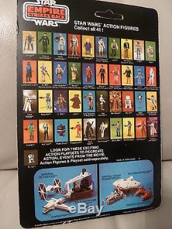 Star Wars Vintage Palitoy Esb Robe De Leia Bespin 41 Retour Non Poinçonné Moc Carte C8.5