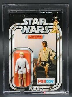 Star Wars Vintage Palitoy Luke Skywalker 12 Dos-b Afa 85 (85/85/85) Up Moc