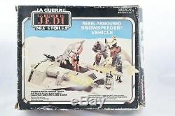 Star Wars Vintage Palitoy Rotj Rebel Snowspeeder 1980 Entièrement Travail Boxed