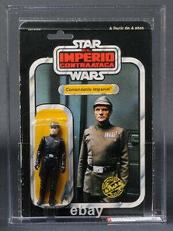 Star Wars Vintage Pbp/poch Esb 41 Back Imperial Commander Afa 80 (80/85/85) Moc